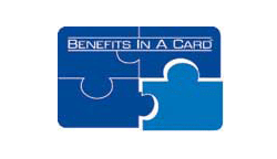 Benefits in a card