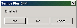 TempsPlus Email All