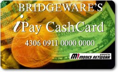 Bridgeware's iPay Cash Card