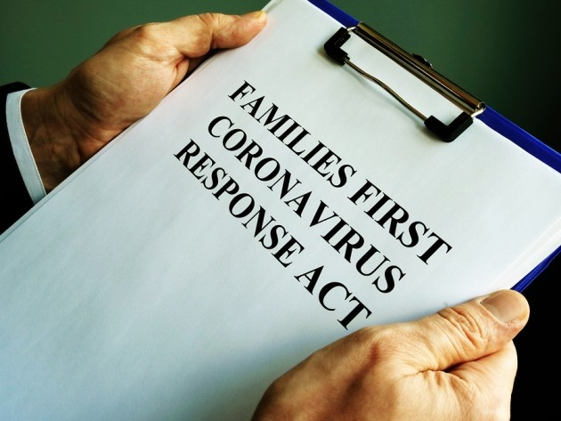 Imgae if showing Families Reads First Corona-virus Response Act Ffcra.